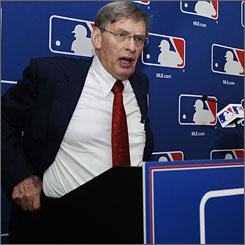 Bud Selig baseballcommissioner